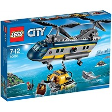 LEGO City Süvamere helikopter 60093